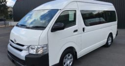 2014 Toyota Hiace Commuter Bus