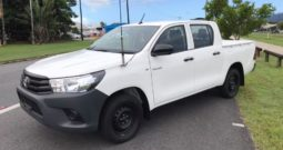 2017 Toyota Hilux Workmate Dual Cab Ute